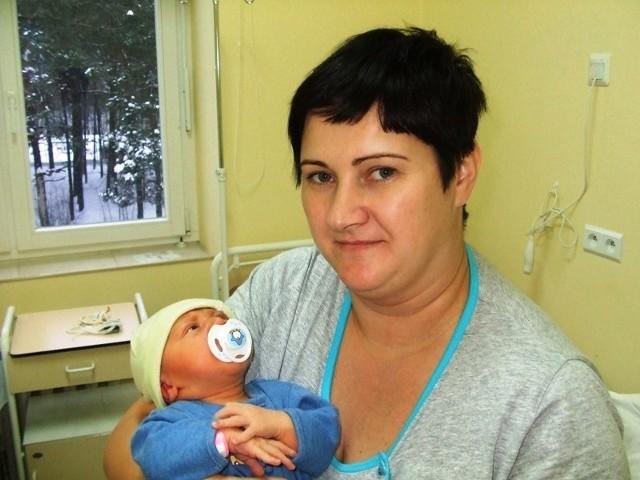 Marcel Antoniak urodził się w poniedziałek, 25 stycznia.