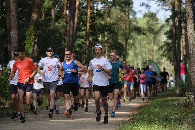W sobotę można wybrać się na poranne bieganie w lasku na Skarpie