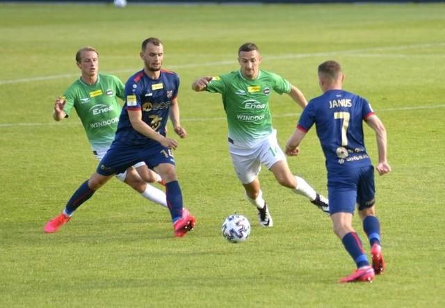 Piłkarze Odry zdobyli cenny punkt w Radomiu.