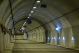 Zamknęty Tunel pod Martwą Wisłą w Gdańsku. Nocne prace serwisowe [2-3.12.2017]