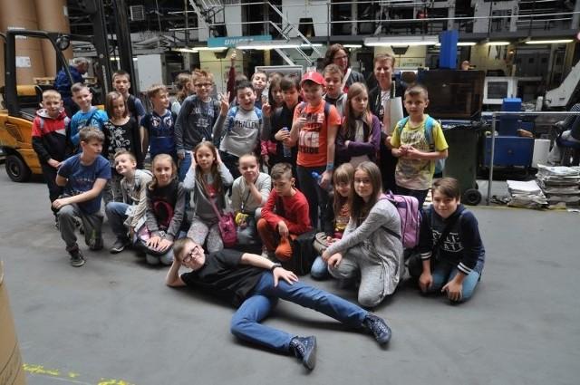 Uczniowie IIIa z wizytą w Expressie:)