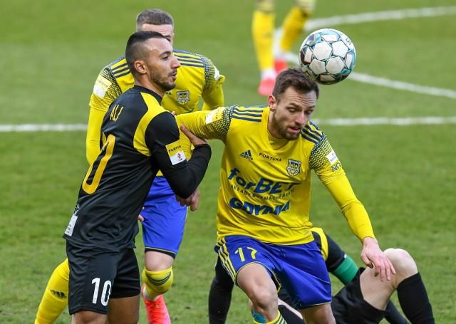 Arka Gdynia wygrała z GKS Jastrzębie 1:0Zobacz kolejne zdjęcia. Przesuwaj zdjęcia w prawo - naciśnij strzałkę lub przycisk NASTĘPNE