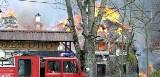 Pożar Dworu Soplicowo. Podpalenie wykluczone, straty - 32 miliony złotych. (wideo, zdjęcia)