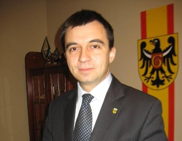 Prezydent Jan Zubowski i starosta Rafael Rokaszewicz (na zdjęciu), to dwaj pewni kandydaci do prezydenckiego fotela na nową kadencję.