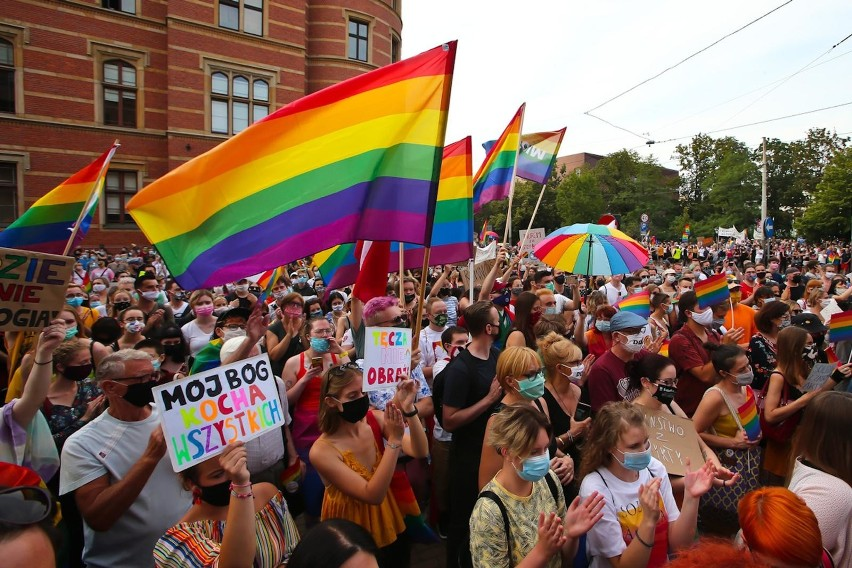 Manifestacja LGBT we Wrocławiu