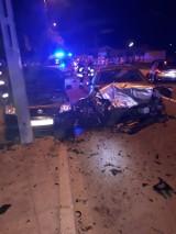 Karambol w Łapach na ul. Sikorskiego. Pijany kierowca spowodował wypadek. Pięć osób trafiło do szpitala [NOWE FAKTY]