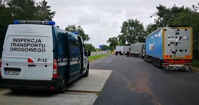Ponad 1 promil alkoholu w wydychanym powietrzu miał kierowca zestawu jadącego z Niemiec na Ukrainę