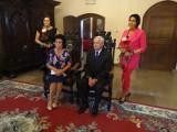 Chełmno. Jubilaci w ratuszu świętowali 50-lecie pożycia małżeńskiego. Zdjęcia