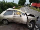 Śmiertelny wypadek w Starym Dzierzgoniu. Zderzenie samochodów, nie żyje kierowca