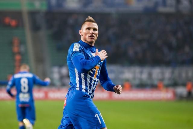 Marcin Robak  jest w tym sezonie równie skuteczny jak byli snajperzy Lecha Robert Lewandowski i Artjom Rudniew