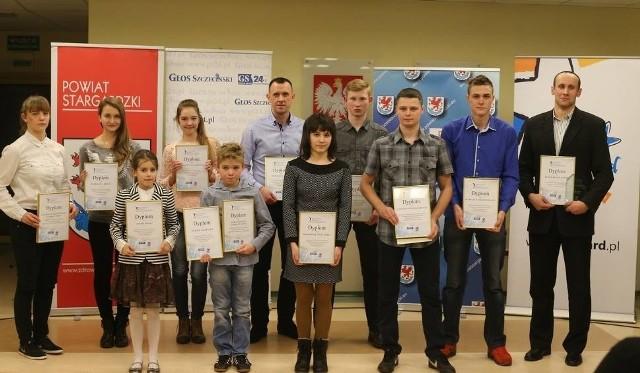 Laureaci dziewiętnastej edycji plebiscytu Głosu Szczecińskiego.