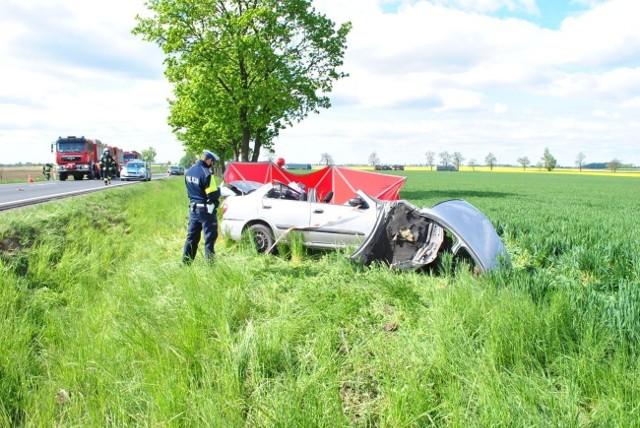 Do wypadku doszło dzisiaj około godziny 8:45 na drodze krajowej nr 15 w miejscowości Busewo