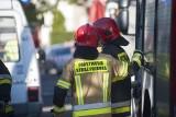 Racibórz. Tragiczny pożar. Mężczyzna zginął w płomieniach na balkonie na oczach sąsiadów