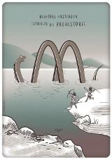Wrocław miastem plakatów. Zobacz najciekawsze plakaty. Potwór z Loch Ness jak logo sieci fast foodów [GALERIA]