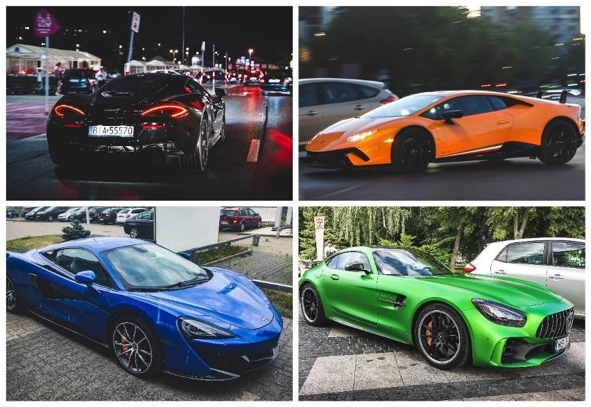 Drogie, ekskluzywne samochody. Marzenie każdego fana...