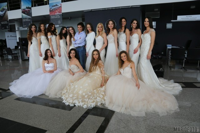 Miss Opolszczyzny 2019. Kandydatki do tytułu miss zaprezentowały się w sukniach ślubnych