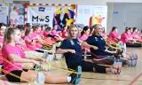 Ponad 300 uczennic na lekcji wf z Otylią Jędrzejczak i innymi mistrzyniami sportu