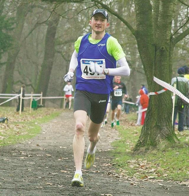 Henryk Szost na co dzień biega maratony. W Żaganiu mimo mocnej stawki poradził sobie także w biegu na 5 kilometrów.