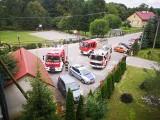 Pożar w Domu Spokojnej Starości Caritas w Kąkolówce w powiecie rzeszowskim [ZDJĘCIA]