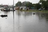 Burza w Łodzi i regionie! Po piątkowej burzy - znów zalane ulice w Łodzi. 19.06.2020