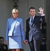 Francja: Emmanuel Macron zaprzysiężony na prezydenta. Inauguracja w Pałacu Elizejskim [ZDJĘCIA]