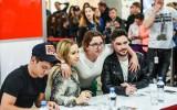 Znani youtuberzy spotkali się z bydgoszczanami. Stuu, Danny i Olciiak w Focus Mall [zdjęcia]