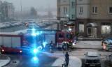 Białystok. Atak na salon fryzjerski przy Pietkiewicza. Śmierdząca substancja w słoiku (zdjęcia)