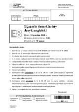 Próbny egzamin ósmoklasisty 2018 z języka angielskiego (Odpowiedzi, Arkusz CKE z j. angielskiego)