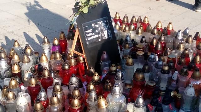 Tak mieszkańcy Gorzowa w styczniu żegnali prezydenta Gdańska.