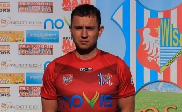 Piotr Chorab po tym sezonie odchodzi z Wisły Sandomierz.