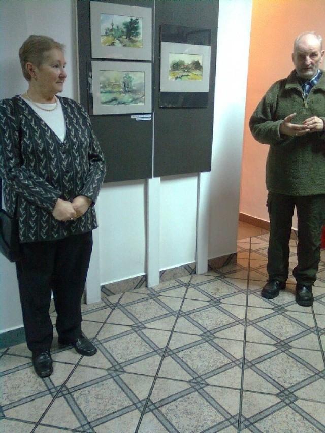 O Anatolu Korzunie opowiadali: jego żona Olimpia (na zdjęciu z lewej) i przyjaciel Wiktor Kabac (z prawej)