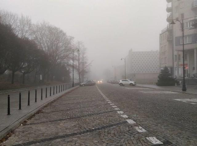 Mgły w województwie podlaskim. IMGW ostrzega. Pierwszy stopień zagrożenia [22.10.2019]