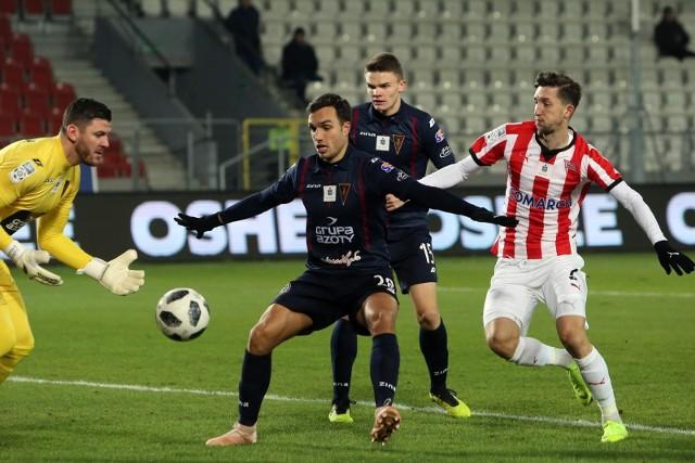 Tomas Podstawski w meczach Pogoni Szczecin.