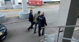 Kolizja w Wojkowicach Kościelnych: pijany instruktor nauki jazdy wjechał samochodem w barierki WIDEO + ZDJĘCIA