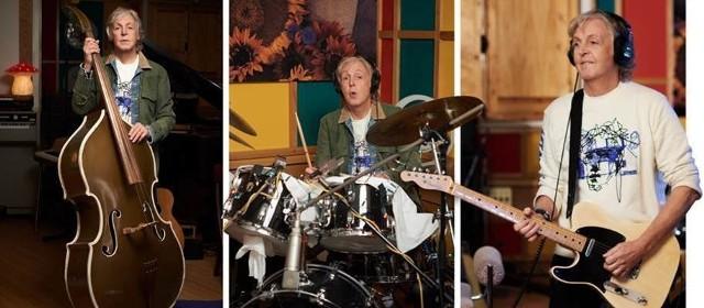 """Paul McCartney 18.12.2020 wydaje nową płytę """"McCartney III"""". Były Beatles nagrał ją w czasie COVID-19. Gra na krążku na każdym instrumencie"""