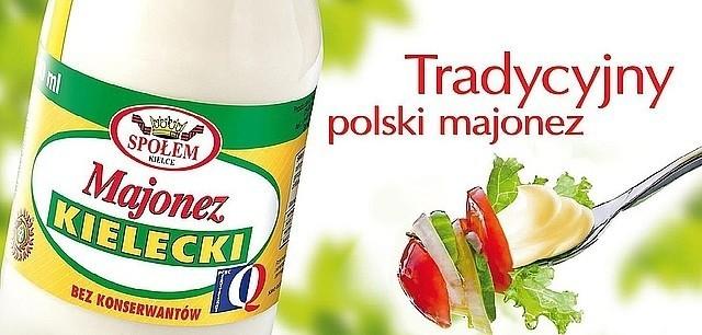 Tak wygląda billboard reklamowy Majonezu Kieleckiego, jaki już oglądają między innymi mieszkańcy Szczecina, Gdańska i Gdyni. fot. WSP Społem Kielce
