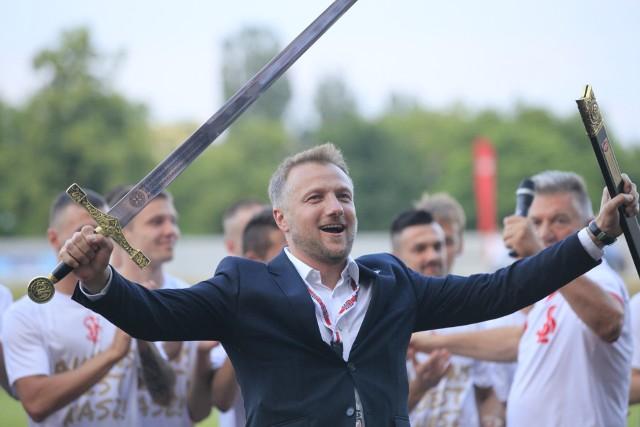 Piłkarze ŁKS Łódź grali nie na 100, ale na 150 procent!