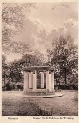 Odkrywamy dawny Międzyrzecz: Pomnik ofiar pierwszej wojny