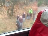 Pijany pasażer wyskoczył z jadącego busa na autostradzie A4