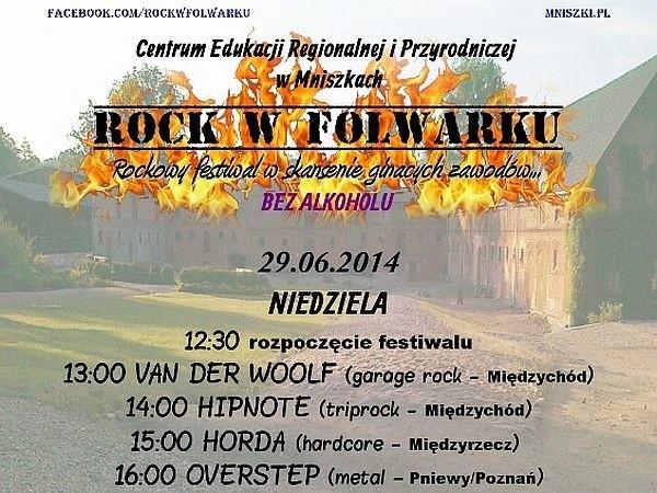 W skansenie w Mniszkach pod Międzychodem odbędzie się impreza muzyczna Rock w Folwarku. Wystąpią m.in. rockowe kapele z Międzychodu i Międzyrzecza.