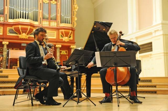 Kornel Wolak, Krzysztof Jabłoński i Jacob Shaw zagrali Trio klarnetowe Johannesa Brahmsa