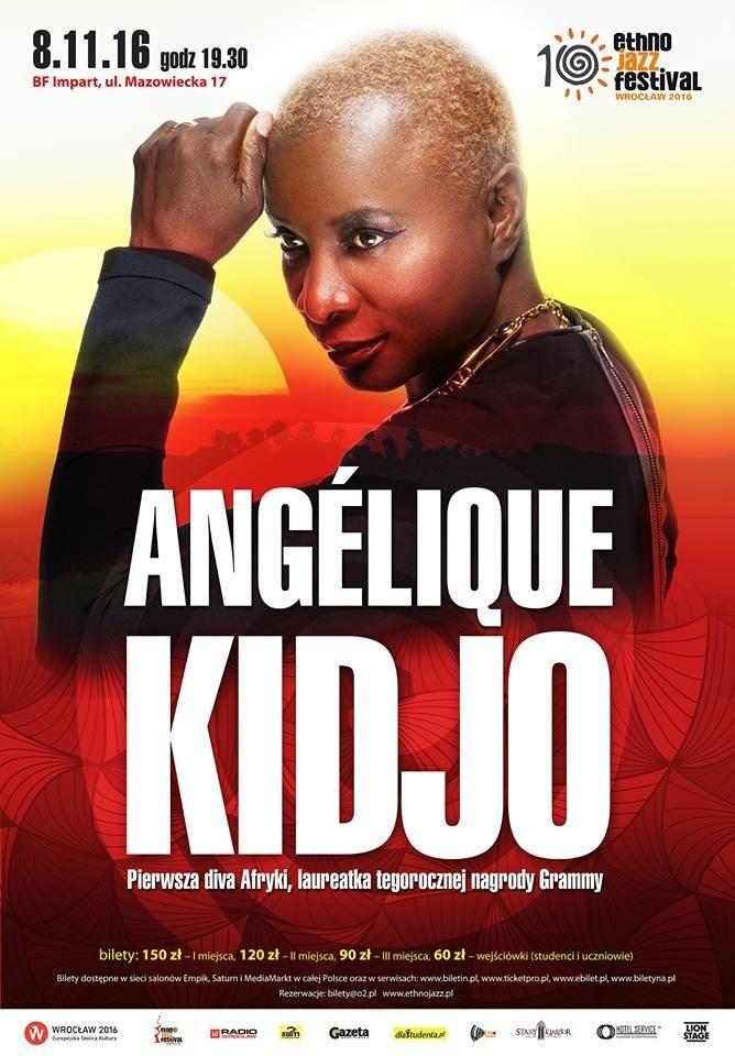 Angelique Kidjo, plakat promujący koncert