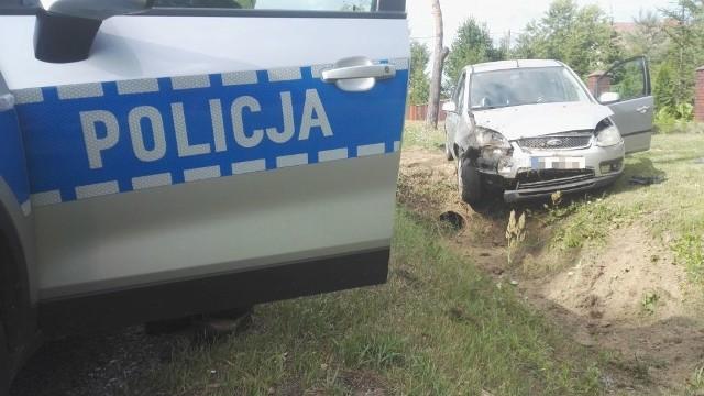 Kadzidło. Wypadek na DK 53. Poszkodowany starszy kierowca