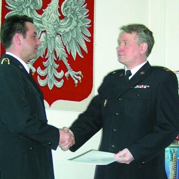 Marcin Pożarowski (z prawej) jest dumny z załogi