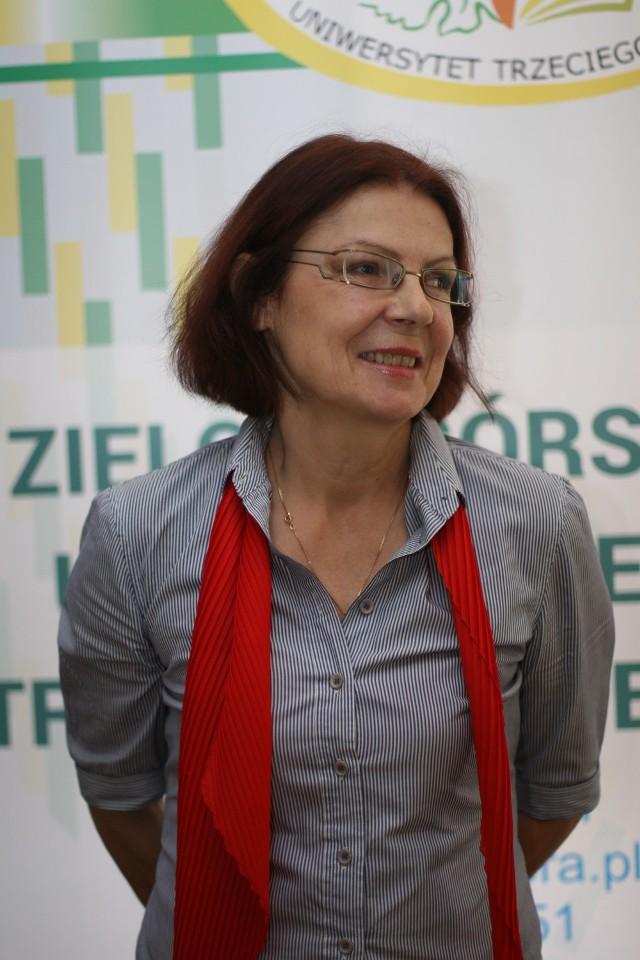 """Elżbieta Gaińska zdobyła najwięcej głosów w pierwszym etapie plebiscytu """"Aktywni 50+"""""""