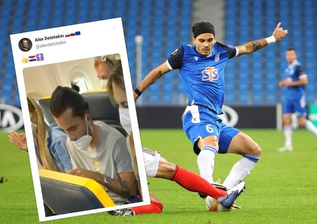 Karlo Muhar niespodziewanie opuścił drużynę Lecha w dniu sparingu z Miedzią Legnica. 25-latek został przyłapany na pokładzie samolotu lecącego do Chorwacji.