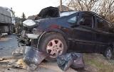 Śmiertelny wypadek w Bryzdzyniu. Nie żyje kierowca samochodu osobowego