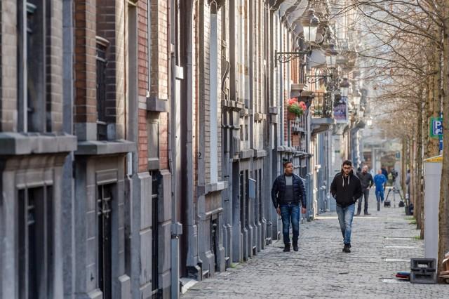 Ulica w dzielnicy Schaerbeek