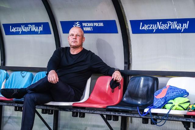 Piotr Mazurkiewicz podczas finału Pucharu Polski