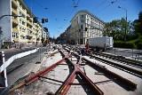 Kolejny duży remont torowiska i kolejne objazdy MPK we Wrocławiu [ZDJĘCIA]
